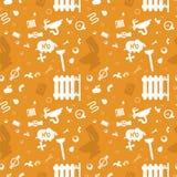 Illustration kopieren Konzept-Klempnerarbeit-Befestigung lizenzfreie abbildung