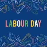 Illustration of Labor Day in the United States to Commemorate Labor Day in the United States. This illustration is intended for everyone who needs vector illustration