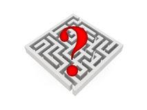 Illustration of labyrinth Stock Photo