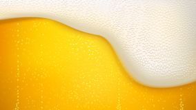 Lager beer background Stock Image