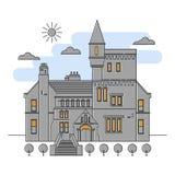 Illustration Landmarks Ireland. Stock Photo