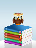 Illustration of language course. Funny illustration of language course Royalty Free Stock Image