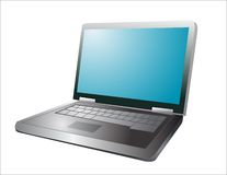 Illustration of a laptop Stock Photos