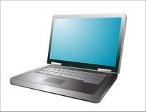 Illustration of a laptop vector illustration