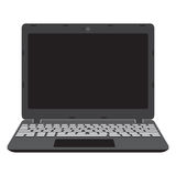 Illustration of laptop screen, notebook. royalty free stock image