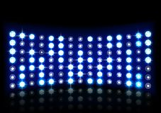 Led projection screen. Illustration of Led projection screen Royalty Free Stock Photo