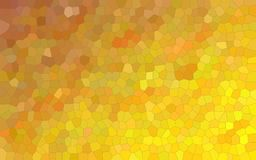 Illustration of lemon yellow and dark red colorful Small Hexagon background. Illustration of lemon yellow and dark red colorful Small Hexagon background royalty free illustration