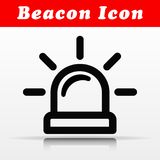 Line beacon vector icon design. Illustration of line beacon vector icon design stock illustration