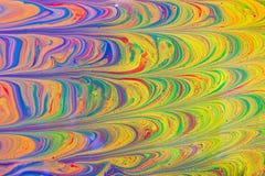 Illustration liquide abstraite liquide d'art Peinture acrylique sur le canva illustration libre de droits