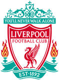 Illustration liverpool the reds soccer Royalty Free Stock Photo