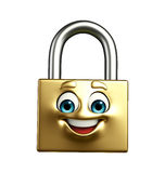Illustration of Lock Royalty Free Stock Image
