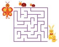 Illustration of logical education for children of preschool age. Illustration of logical education for children of preschool age Stock Image
