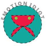 Emotion idiot stock images