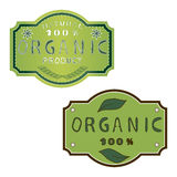 Illustration of logo for organic. Vector illustration of logo for organic Stock Photos