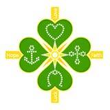Illustration of Magic Clover Stock Photography