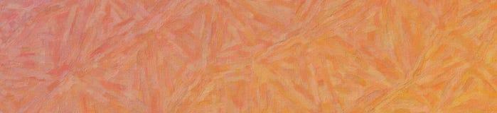 Illustration of Marigold and pink Impasto with color variations banner background. Illustration of Marigold and pink Impasto with color variations banner stock illustration