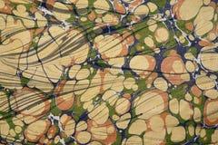 illustration marmorerad paper turk Arkivfoto