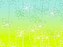 Illustration of meadow Royalty Free Stock Photos