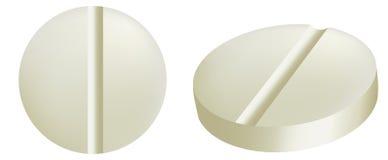Illustration of medicine tablets Stock Image