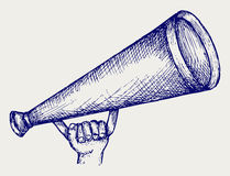 Illustration megaphone Royalty Free Stock Photo