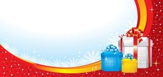 Illustration merveilleuse de Noël. Vecteur. Photos libres de droits