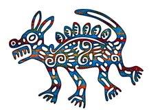 Illustration mexicaine de loup de coyote illustration libre de droits