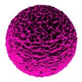 Illustration micro de la spore 3D de virus illustration de vecteur