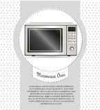 Illustration of a microwave Stock Images