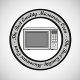 Illustration of a microwave Stock Photo