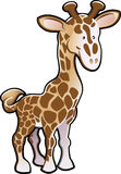 Illustration mignonne de giraffe Photo stock