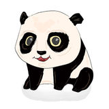 Illustration mignonne de panda Panda Baby Images stock
