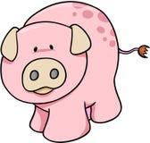 Illustration mignonne de porc Images libres de droits