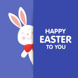 Illustration mignonne de vecteur de lapin de Pâques illustration libre de droits