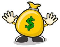 Illustration of money Royalty Free Stock Photo