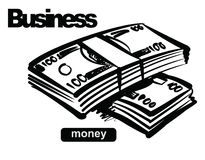 Illustration of money Stock Photo