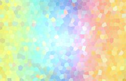 Colorful abstract background, like a mosaic and stained glass. royalty free stock photography