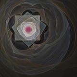 Illustration multicolore abstraite sur un fond foncé Photographie stock libre de droits