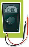 Illustration of MultiMeter Royalty Free Stock Photography