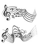 Illustration Music theme Stock Image