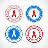 Illustration of National Latino AIDS Awareness Day Background Stock Image