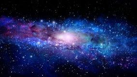 Illustration of a nebula Royalty Free Stock Photography