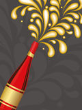 Illustration for new year celebration Royalty Free Stock Photo