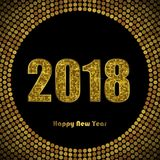 Illustration of New Year celebration card template. Colorful vector illustration of New Year celebration card template vector illustration