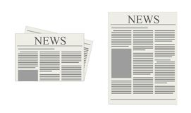 Newspaper stock illustration