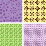 Illustration of nice textures Stock Photos