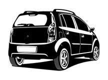 Illustration de voiture Photos stock
