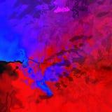 illustration numérique colorée de peinture Images stock