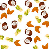 Illustration of nuts Stock Image