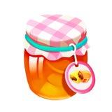 Illustration: Objects Set: Candy Jar. Stock Photography