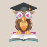 Illustration- och designbegrepp för online-utbildning Royaltyfri Foto